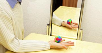 運動を観察することで神経に関係する痛みが減るの写真