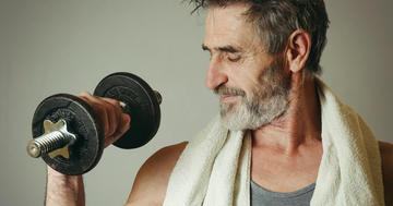 老男子は男性ホルモンを補充すべきかの写真