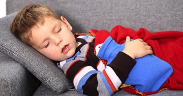 ノロウイルスで下痢を起こしやすい子どもの特徴の写真