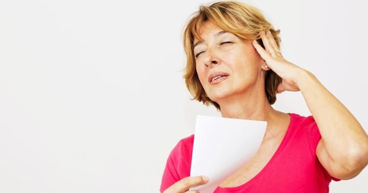 顔がほてる更年期の症状に、抗うつ薬パロキセチンが効くの写真