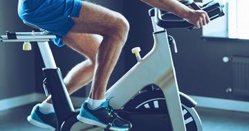 脳卒中後のバランス訓練、バーチャル自転車で改善の写真