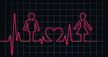 心筋梗塞の1年後、性機能の問題が男性の4割、女性の6割に発生の写真