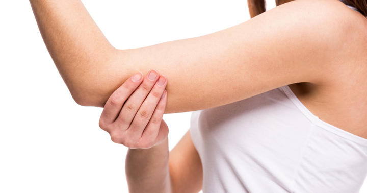 27歳女性の左腕にできた「痛くて熱いポツポツ」、原因はウイルスの写真